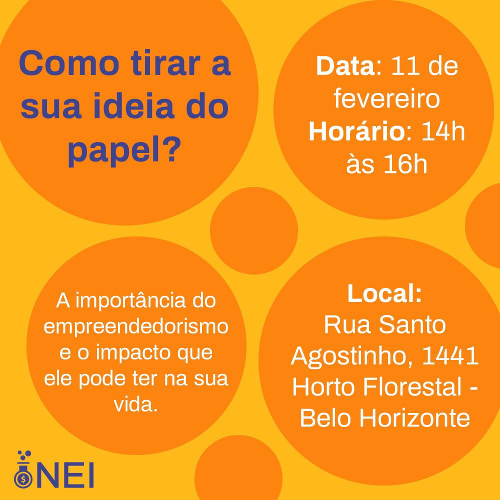 WORKSHOP: COMO TIRAR SUA IDEIA DO PAPEL