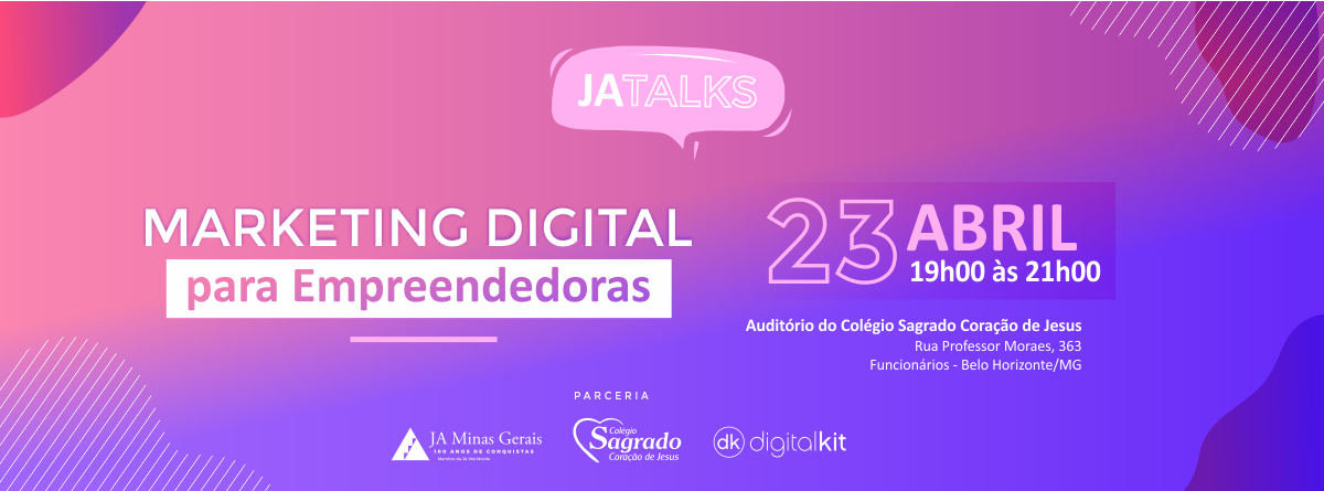 PALESTRA MARKETING DIGITAL PARA EMPREENDEDORAS