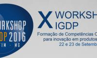 X Workshop do IGDP