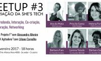 Meetup#3 She'sTech - Happy Hour, Talks e Mesa Redonda