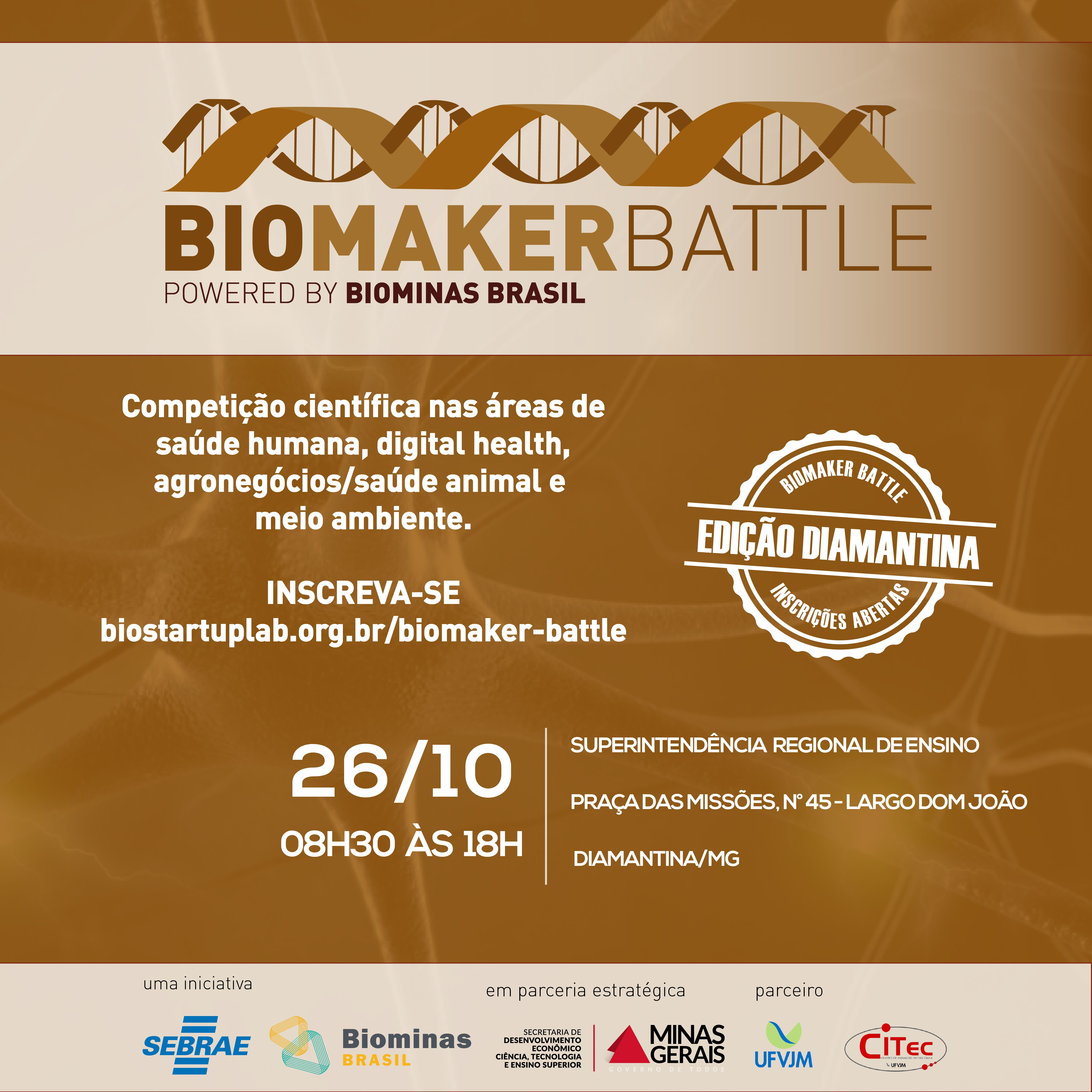 Biomaker Battle Diamantina